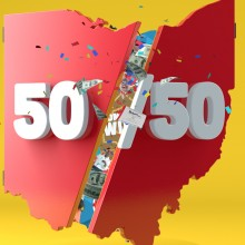 Ohio Lottery - 50 / 50 Game