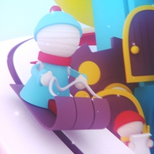 2012 Christmas Card (animation + AR)
